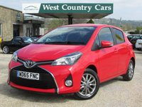 USED 2016 65 TOYOTA YARIS 1.3 VVT-I ICON 5d 99 BHP 1 Private Dorset Owner From New