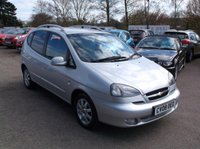 2008 CHEVROLET TACUMA 2.0 CDX PLUS 5d AUTO 121 BHP £2350.00