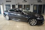 USED 2012 61 JAGUAR XF 5.0 XFR V8 4d AUTO 510 BHP FINISHED IN STUNNING MIDNIGHT BLACK WITH FULL LEATHER SEATS + SATELLITE NAVIGATION + XENON HEADLIGHTS + 20 INCH ALLOYS + HEATED/COOLED FRONT SEATS + BLUETOOTH + CRUISE CONTROL + PARKING SENSORS