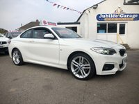 USED 2016 16 BMW 2 SERIES 2.0 220D M SPORT 2d AUTO 188 BHP One Owner, Full BMW History, £5000 Extras, Alpine White
