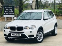2016 BMW X3 2.0 XDRIVE20D SE 5d AUTO 188 BHP £SOLD