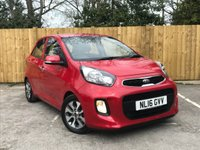 USED 2016 16 KIA PICANTO Kia Picanto 2 1.2L Automatic 83BHP 5Dr Full Service History, One Owner, Automatic