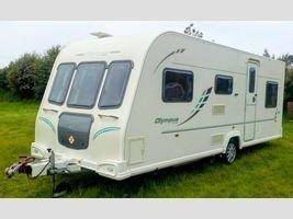 2010 BAILEY OLYMPUS 546 Caravan £9995.00