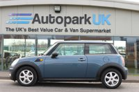 2010 MINI ONE HATCH 1.4 3DR 94 BHP £3695.00