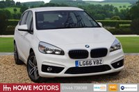 USED 2019 BMW 2 SERIES ACTIVE TOURER  1.5 216d Sport S/S  ONE OWNER ONLY 17200 MILES NAVIGATION BLUETOOTH 83.1 MPG EURO 6
