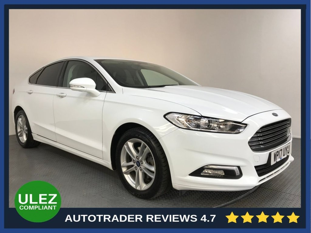 USED 2017 17 FORD MONDEO 2.0 ZETEC (NAV) TDCI 5d 148 BHP FULL SERVICE HISTORY - 1 OWNER - EURO 6 - SAT NAV - AIR CON - BLUETOOTH - CRUISE - DAB RADIO - PRIVACY