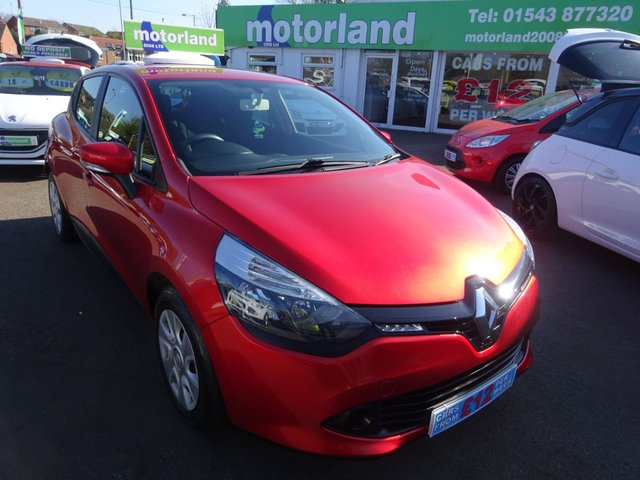 USED 2013 63 RENAULT CLIO 1.1 EXPRESSION 16V 5d 75 BHP **ONE LADY OWNER FROM NEW **ONLY 16,000 MILES** SERVICE HISTORY**01543 877320