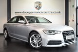 USED 2013 63 AUDI A6 3.0 TDI S LINE 4DR AUTO 204 BHP superb service history FINISHED IN STUNNING ICE METALLIC SILVER WITH FULL LEATHER BLACK INTERIOR + SUPERB SERVICE HISTORY + SATELLITE NAVIGATION + BLUETOOTH + CRUISE CONTROL + HEATED S LINE SEATS + DUAL CLIMATE CONTROL + STOP/START FUNCTION + ELECTRIC BOOT + FRONT & REAR PARKING SENSORS + LUMBAR SUPPORT SEATS + 18 INCH ALLOY WHEELS