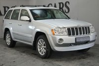 USED 2007 57 JEEP GRAND CHEROKEE 3.0 V6 CRD OVERLAND 5d AUTO 215 BHP Grey Two Tone Leather Alcantara Heated Electric Memory Overland Embossed Seats, Satellite Navigation, Front and Rear Park Distance Control, 19 Inch Alloy Wheels, Electric Sunroof, Leather Multi Function Steering Wheel, Cruise Control, Dual Zone Climate Control, Roof Rails, Privacy Glass, Heated Electric Powerfold Mirrors,