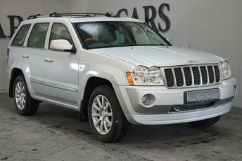 2007 JEEP GRAND CHEROKEE 3.0 V6 CRD OVERLAND 5d AUTO 215 BHP £4895.00