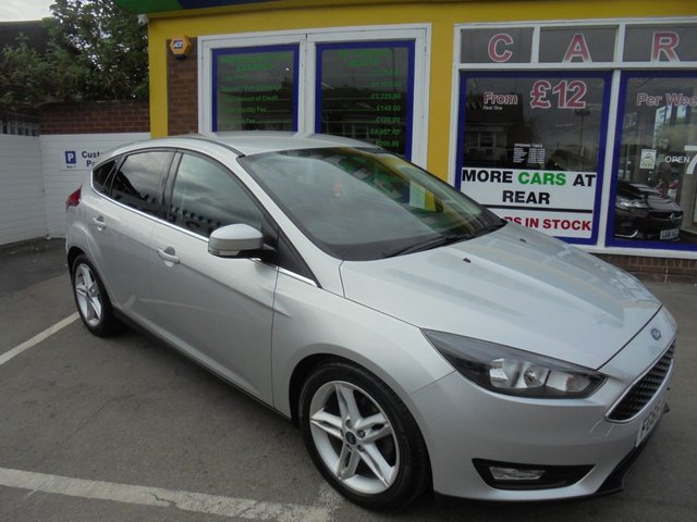 USED 2015 65 FORD FOCUS 1.5 ZETEC TDCI 5d 118 BHP ** JUST ARRIVED ** FULL SERVICE HISTORY **DIESEL