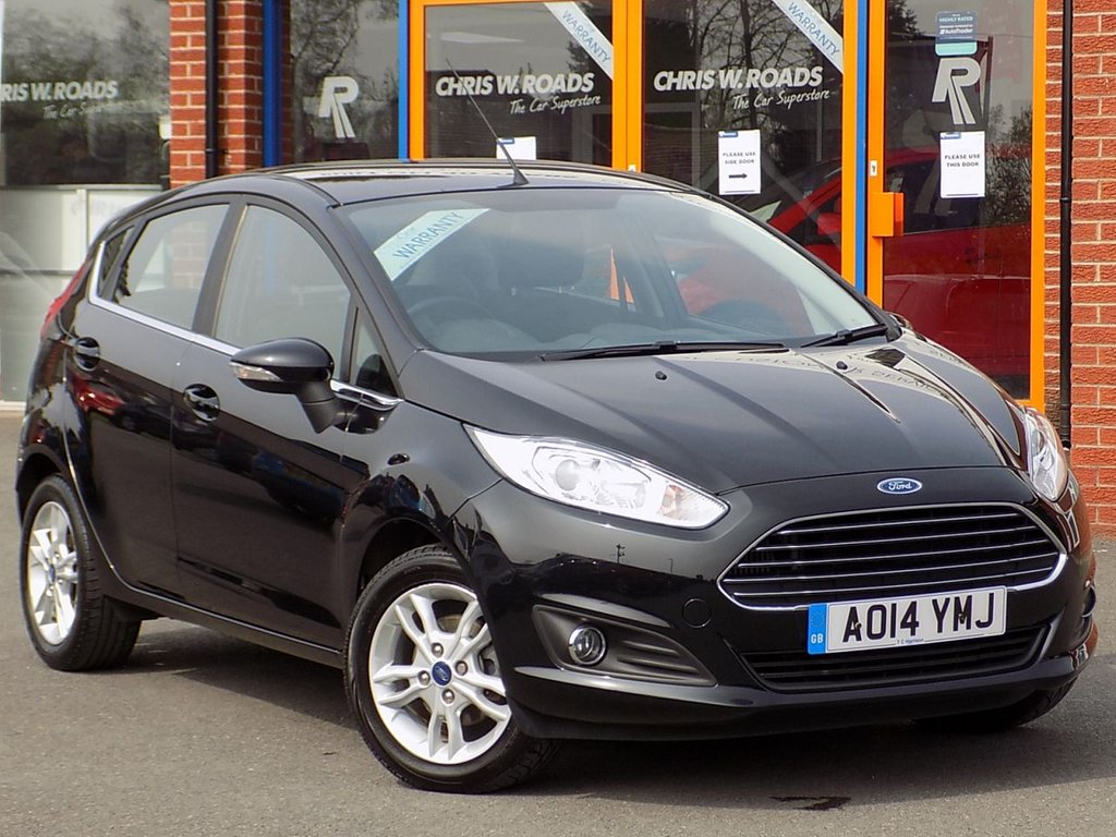 USED 2014 14 FORD FIESTA 1.0 EcoBoost Zetec 5dr ** Bluetooth + Air Con **