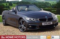USED 2016 16 BMW 4 SERIES 3.0 435D XDRIVE M SPORT 2d AUTO 309 BHP NAV HARMAN KARDON HEAD-UP SURROUND VIEW CAMERA HEAD SCARF M SPORT PLUS  PACKAGE HEAD UP DISPLAY ADAPTIVE XENON MASSIVE SPECIFICATION