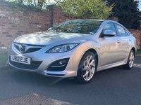"""USED 2012 12 MAZDA 6 2.2 TAKUYA D 5d 163 BHP 2 OWNERS, FULL MAZDA SERVICE HISTORY, MOT MAR 20, EXCELLENT CONDITION, 18"""" ALLOYS, 1/2 LEATHER, DUAL CLIMATE, CRUISE, BLUETOOTH, RADIO CD, E/WINDOWS, R/LOCKING, FREE WARRANTY, FINANCE AVAILABLE, HPI CLEAR, PART EXCHANGE WELCOME,"""