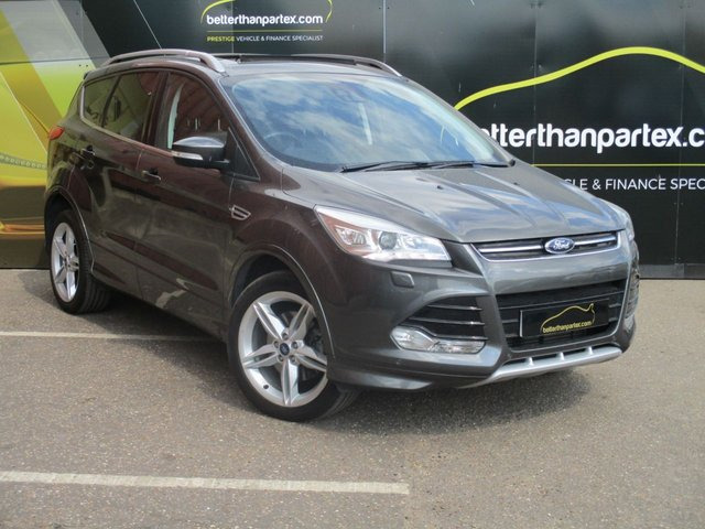 2014 64 FORD KUGA 2.0 TITANIUM X TDCI 5d 138 BHP PANORAMIC ROOF LEATHER SAT NAV REVERSE CAMERA