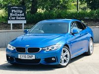 USED 2016 16 BMW 4 SERIES 420D M SPORT GRAN COUPE AUTO 188 BHP Professional Media - Sat Nav, Full leather / Heated seats, Front and rear parking sensors