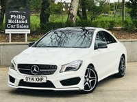 USED 2014 14 MERCEDES-BENZ CLA CLA 200 CDI AMG SPORT 4d 136 BHP Panoramic roof, Rear privacy glass, Leather / Alcantara