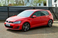 USED 2015 15 VOLKSWAGEN GOLF 2.0 GTD 5d 184 BHP FVSH TORNADO RED 6 MONTHS RAC WARRANTY FREE + 12 MONTHS ROAD SIDE RECOVERY!