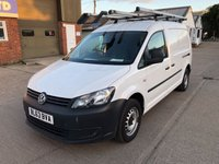 USED 2014 63 VOLKSWAGEN CADDY MAXI 1.6 C20 TDI STARTLINE BMT 102ps CHOICE