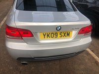USED 2009 09 BMW 3 SERIES 2.0 320I M SPORT 2d 168 BHP Full BMW service history ...Low mileage for the year !    Outstanding condition inside and out.          Last serviced at 41000 miles. Full black leather trim. This car not to be missed.Viewing essential