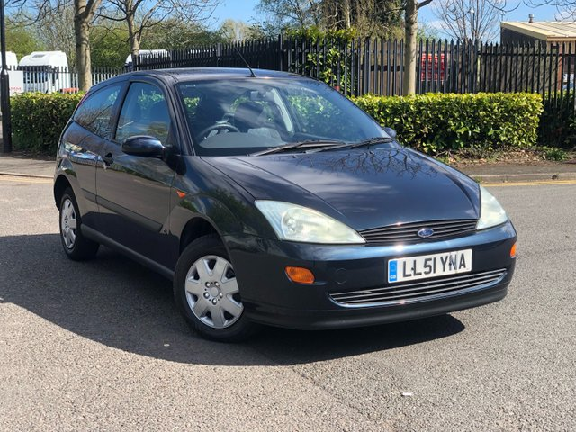 2002 51 FORD FOCUS 1.4L CL 3d 74 BHP