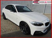 2015 BMW 2 SERIES 2.0 220D M SPORT COUPE 2dr AUTO 190 BHP, SAT NAVIGATION  £15395.00