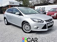 USED 2012 62 FORD FOCUS 1.0 ZETEC 5d 124 BHP 1 PREV OWNER + JUST SERVICED