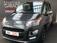 USED 2014 64 CITROEN C3 PICASSO 1.6 PICASSO SELECTION HDI 5d 91 BHP STUNNING NEW CONDITION SPECIAL EDITION PICASSO WITH FULL GLASS ROOF, CODED METALLIC GREY ALLOYS