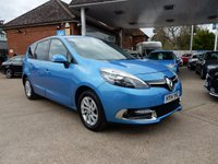 USED 2014 14 RENAULT GRAND SCENIC 1.5 DYNAMIQUE TOMTOM ENERGY DCI S/S 5d 110 BHP SAT NAV,BLUETOOTH,AIR CON,7 SEATER,SERVICE HISTORY,GOOD MPG