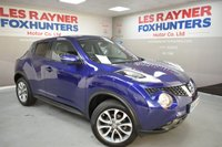 USED 2015 65 NISSAN JUKE 1.5 TEKNA DCI 5d 110 BHP Leather Upholstery, Cheap Tax, Great MPG, Low miles