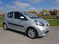 USED 2008 W TOYOTA AYGO 1.0 PLATINUM VVT-I 5d 68 BHP, 2 Private Owners, £20.00pa Road Tax.