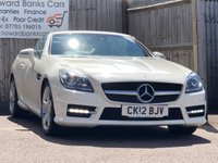 USED 2012 12 MERCEDES-BENZ SLK 2.1 SLK 250 CDI BLUEEFFICIENCY AMG SPORT 2d AUTO 204 BHP FINANCE ME TODAY ++ DECISIONS IN 60 SECONDS