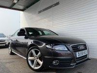 2008 AUDI A4 2.0 TDI S LINE 4d 118 BHP £7195.00