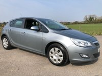 2012 VAUXHALL ASTRA 1.4 EXCLUSIV 5d 85 BHP £3995.00