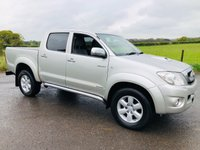 2011 TOYOTA HI-LUX 3.0 INVINCIBLE 4X4 D-4D DCB 1d AUTO 169 BHP £11995.00