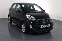 USED 2012 12 KIA PICANTO 1.2 3 5d 84 BHP Demo and ONE OWNER with 6 Stamp SERVICE HISTORY