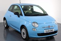 USED 2013 13 FIAT 500 1.2 POP 3d 69 BHP 2 OWNERS with 3 Stamp SERVICE HISTORY
