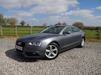 USED 2013 63 AUDI A5 2.0 SPORTBACK TDI SE TECHNIK 5d 174 BHP EXCELLENT SPECIFICATION A5 WITH FULL SERVICE HISTORY