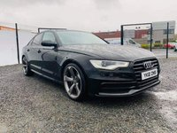 USED 2012 10 AUDI A6 2.0 TDI S LINE 4d AUTO 175 BHP WELL CARED FOR AUDI A6 S LINE