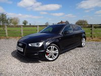 USED 2014 14 AUDI A3 2.0 TDI S LINE 5d 148 BHP EXCELLENT SPECIFICATION A3 WITH FULL SERVICE HISTORY