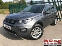 USED 2015 15 LAND ROVER DISCOVERY SPORT 2.2 SD4 SE TECH 5d AUTO 190 BHP 7 SEATER SAT NAV LEATHER ONE OWNER FSH NOW SOLD.