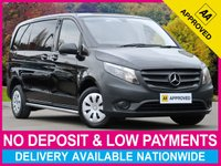 USED 2016 16 MERCEDES-BENZ VITO 109 CDI 1.6 CDI COMPACT 2.8T PANEL VAN TWIN SLIDING SLIDE DOORS PLYWOOD-LINED CRUISE CONTROL