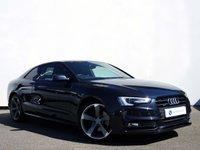 USED 2013 63 AUDI A5 2.0 TFSI QUATTRO BLACK EDITION 2d AUTO 222 BHP SATELITE NAVIGATIOM with BANG+OLUFSEN......TFSI......