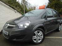 USED 2012 12 VAUXHALL ZAFIRA 1.6 EXCLUSIV 5d 113 BHP GUARANTEED TO BEAT ANY 'WE BUY ANY CAR' VALUATION ON YOUR PART EXCHANGE