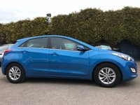 USED 2016 16 HYUNDAI I30 1.6 CRDI SE NAV BLUE DRIVE 5d WITH SAT NAV AND SERVICE HISTORY  NO DEPOSIT  PCP/HP FINANCE ARRANGED, APPLY HERE NOW