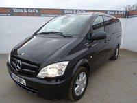 2013 MERCEDES-BENZ VITO 2.1 113 CDI TRAVELINER 5d AUTO 136 BHP £10995.00