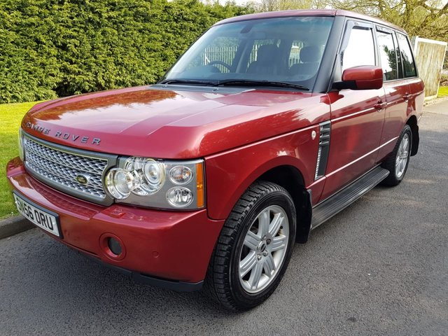 View our LAND ROVER RANGE ROVER VOGUE TDV8 A