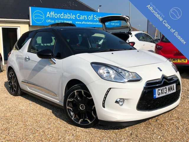 2013 13 CITROEN DS3 1.6 E-HDI DSTYLE PLUS 3d 90 BHP