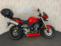 2009 TRIUMPH STREET TRIPLE STREET TRIPLE LOW MILEAGE 1 OWNER FROM NEW 2009 59 £4290.00