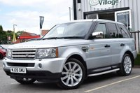 USED 2009 09 LAND ROVER RANGE ROVER SPORT 4.2 V8 SPORT HSE 5d AUTO 385 BHP Full Service History With 10 Service Stamps